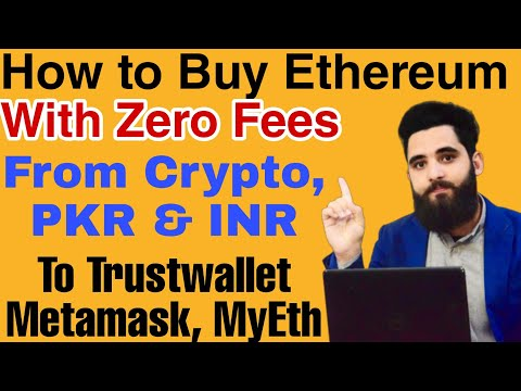How To Buy Ethereum With Zero Fees From Crypto,PKR \u0026 INR||Withdraw To Any Wallet