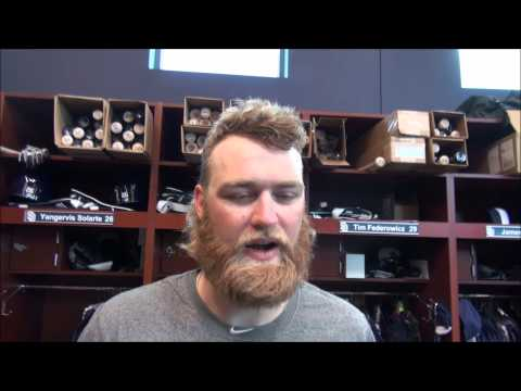 Padres' Andrew Cashner on his defense & the pitcher/catcher relationship