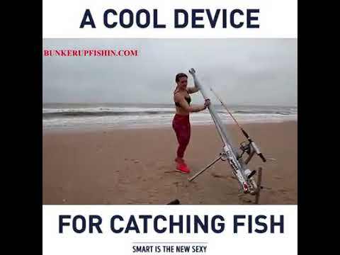 A Cool Device For Catching Fish Youtube