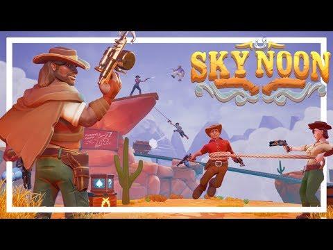 *NEW* Arena Wild West FPS Game! - SKY NOON Beta Gameplay