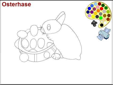 easter bunny coloring pages for kids easter bunny coloring pages youtube