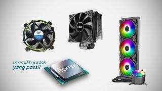 Membeli CPU Cooler Yang Cocok Untuk Processor intel Core i9 11900k | ft. PcCOOLER