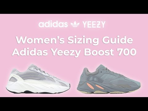Women's Sizing Guide: Adidas Yeezy Boost 700 – What Size Yeezy's to buy for Girls, Men to Women Size