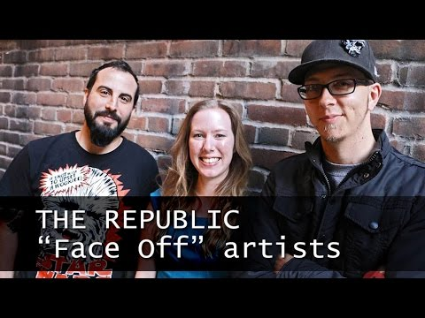 Face Off artists join The Republic team to create character designs, makeup