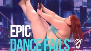 """2016 EPIC Dance Fails of *All Time* Compilation """"TRY NOT TO LAUGH OR GRIN"""""""