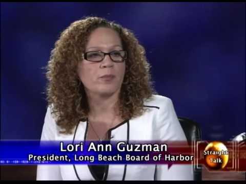 Straight Talk TV Show: Lori Ann Guzman, President of Long Beach Harbor Commissioners