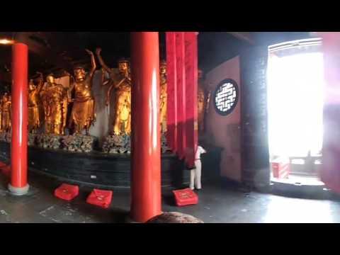 Jade Boeddha tempel Shanghai China #360video