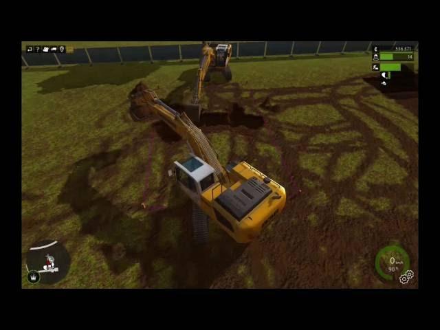 Let's Play Bau-Simulator 2015   Stadion-Bad Fertig   Folge #026
