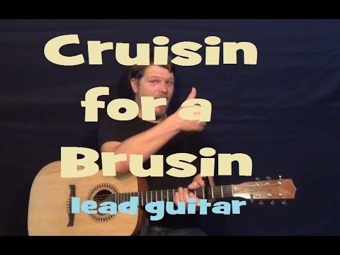 Cruisin' For A Bruisin' (Ross Lynch/Teen Beach Movie) Lead Guitar Solo Lesson with TAB