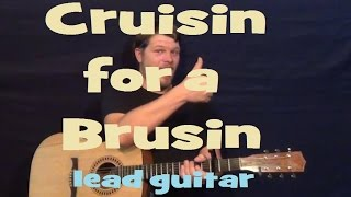 Cruisin' For A Bruisin' (Ross Lynch/Teen Beach Movie) Lead Guitar Solo Lesson with TAB