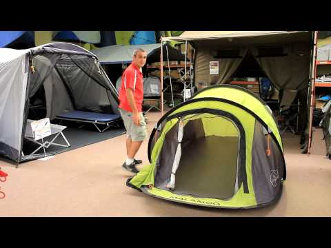 Malamoo Classic 3 Second Tent Review - Amazon Outdoors & Malamoo Classic 3 Second Tent Review - Amazon Outdoors - YouTube