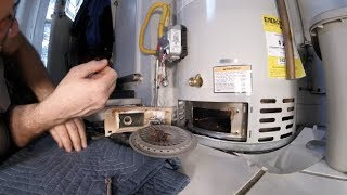 HOW TO CLEAN YOUR GAS WATER HEATER FILTER