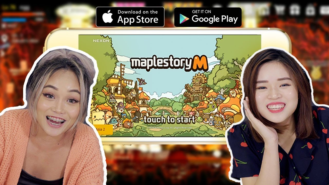 Maplestory M - First look (Special coupon code)