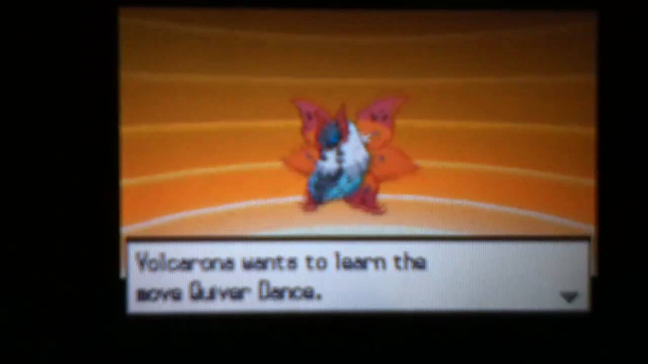 Larvesta Evolving Into Volcarona Youtube