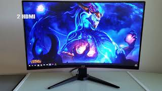 AOC C32G1 Review – 32-inch 144Hz VA Gaming Monitor with FreeSync