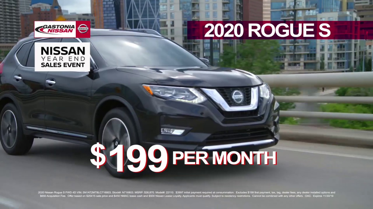 Nissan Of Gastonia >> It S Black Friday All Month Long At Gastonia Nissan
