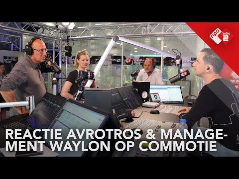 Reactie AVROTROS & management Waylon op commotie rondom Waylon | NPO Radio 2