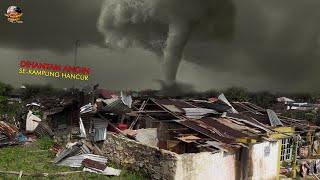 Download LAGI, Grogol Diterjang Angin Ribut Sebabkan Rumah Warga Porak-Poranda // Kejadian Terbaru 2021