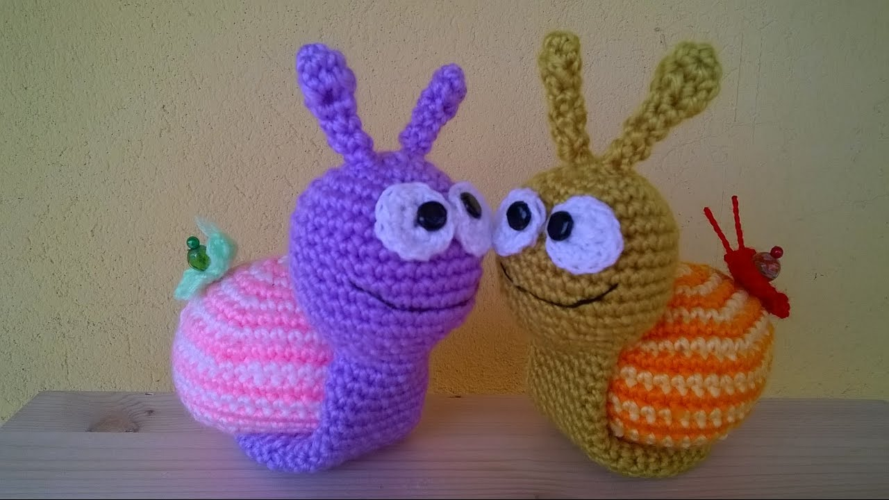 Tutorial: Coccinella in amigurumi - YouTube | 720x1280