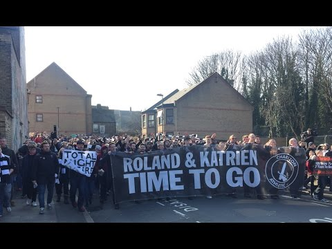 All Charlton Protests vs. Middlesbrough - 13th March 2016