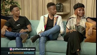 The Mampofu Siblings Lunathi Oros and Prince  Afternoon Express  10 April 2019
