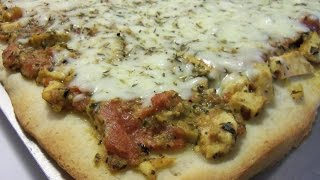 How To Make Chicken Pesto Pizza With Cookingandcrafting