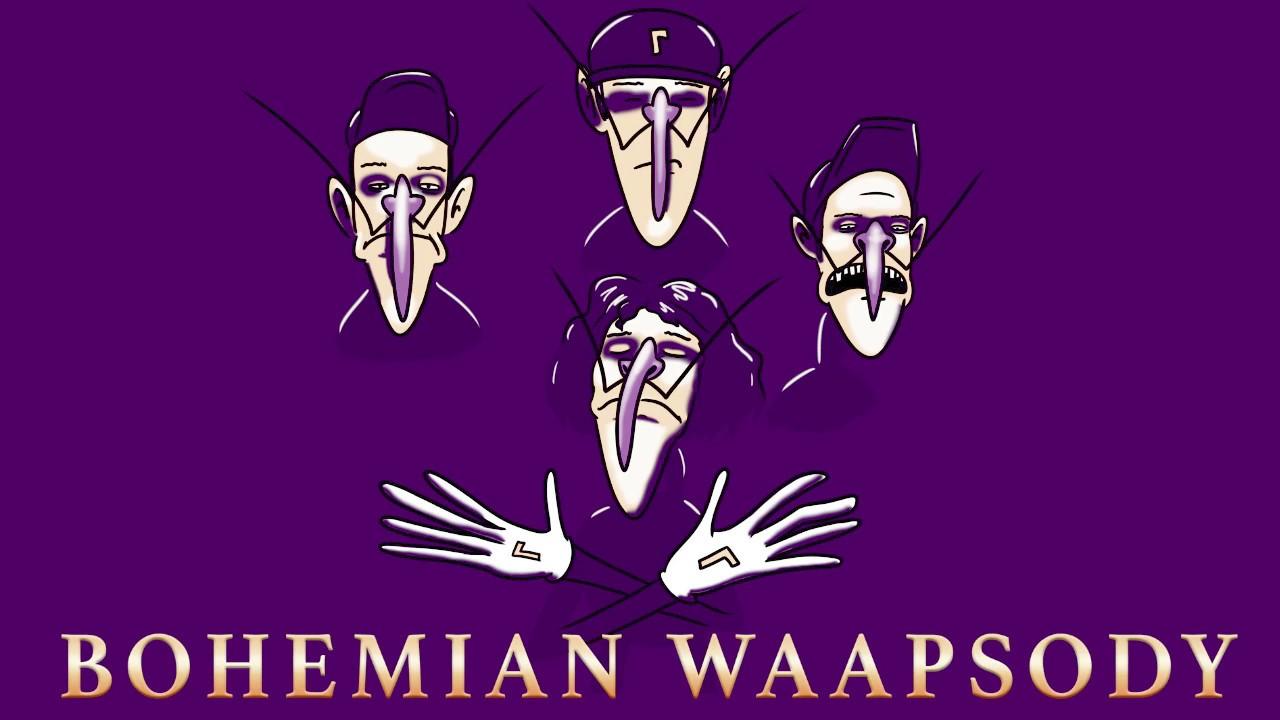 Bohemian WAApsody (Queen sung by five Waluigis)