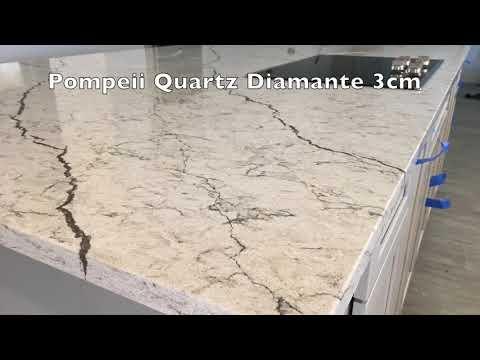 Quartz Countertops Pompeii