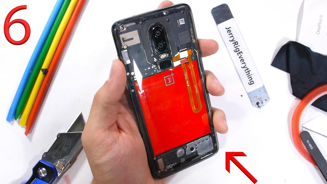 new concept 20971 1cb76 OnePlus 6 teardown reveals real water resistance rating - SlashGear