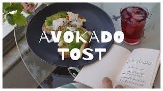 Avokado tost / Şükür Risalesi / Okulsuz sabah / Sessiz Vlog // Lazy morning / Avocado toast