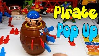 Hướng dẫn chơi trò đâm hải tặc - Pirate Pop Up toy
