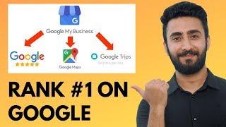 Google My Business Rank #1 On Google