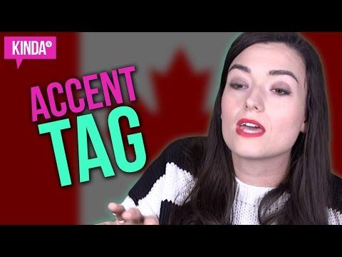 THE ACCENT TAG: CANADA Natasha  KindaTV ft. Natasha Negovanlis