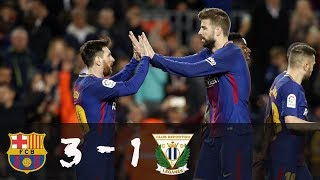 Download Video Barcelona vs Leganes 3-1 All Goals & Highlights 7-4-2018 MP3 3GP MP4