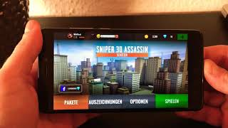 Sniper 3D Assassin on the Xiaomi Redmi Note 4X