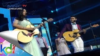 Battle Gitar Akustik Mahesya VS Ghaitsa Kenang - KDI Star (11/9)
