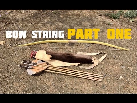 How To Make a Bow String (Part 1 of 2)
