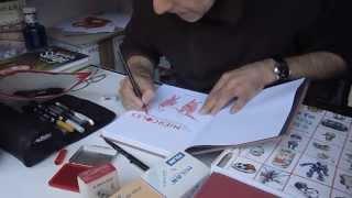 Juan Berrio en la Feria del libro de Madrid 2013