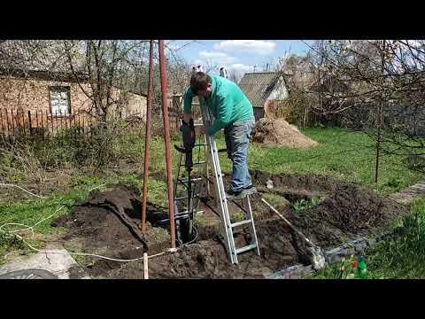 Как забить уголок в землю для заземления