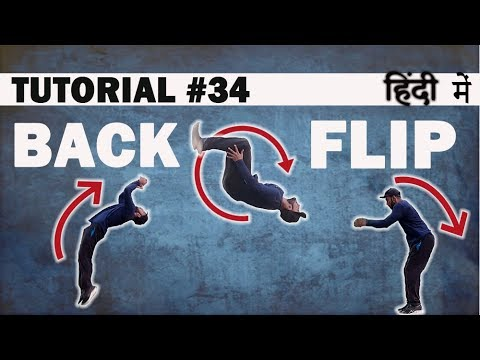 How to BACK FLIP | Breaking(Hip Hop)Dance Tutorial in Hindi| Shivam Yadav | Dance Mantra Academy 34