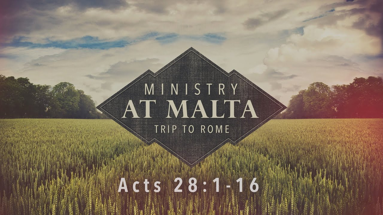 how to get from rome to malta