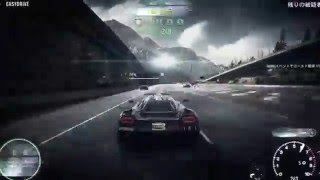 【Need For Speed Rivals】 ヒートレベル10撃破! Destroy the Racer!