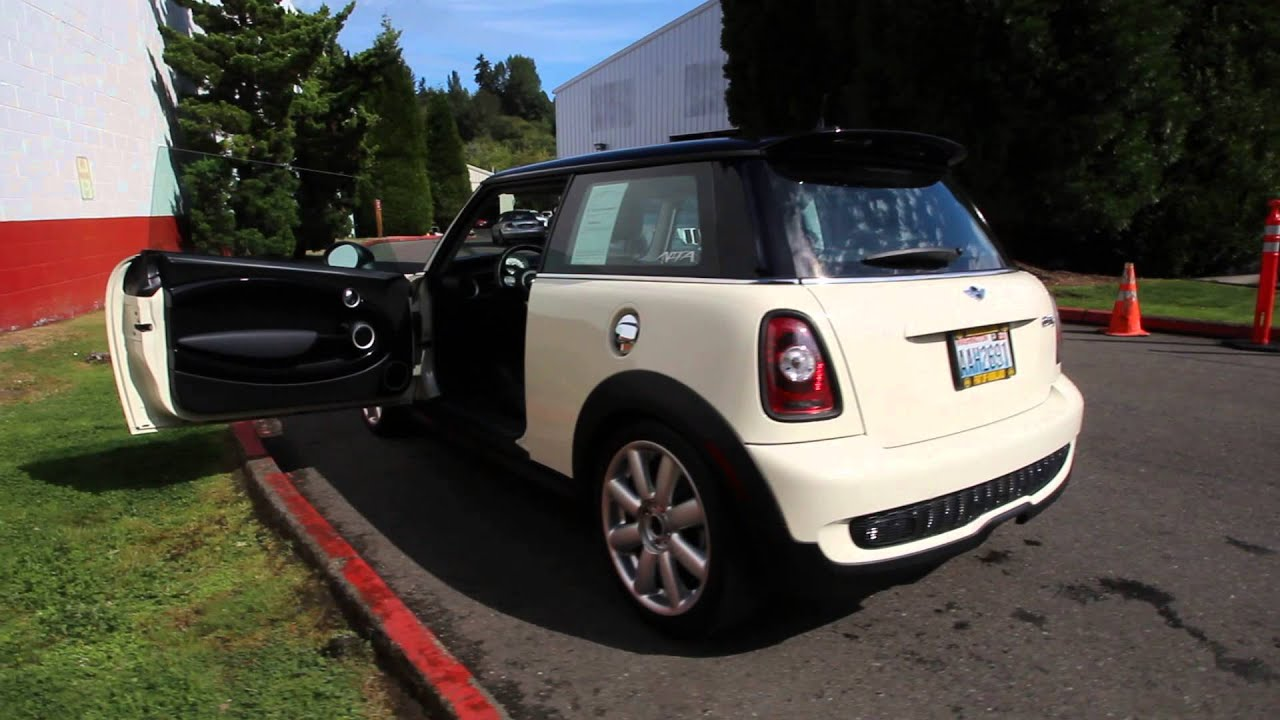 atx41141 2010 mini cooper s base dcj of kirkland pepper white youtube. Black Bedroom Furniture Sets. Home Design Ideas