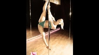 Karina Solis en Pole Dance Fitness Competition POLE DFC 2013