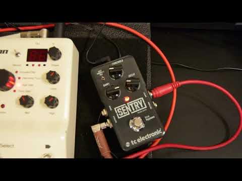 TC Electronic Sentry Noise Gate Demo