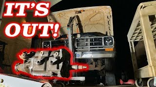 The F100 Tremec 5 Speed Swap Begins! Ep 1 Disassembly