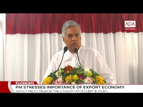 Prime Minister speaks of an economy based on new technology (English)
