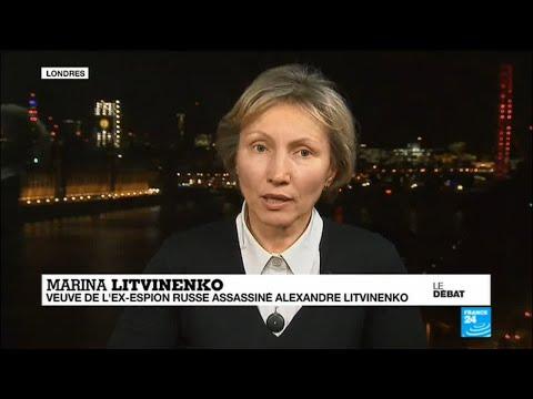 Témoignage de la veuve de l'ex-espion russe assassiné Alexandre Litvinenko