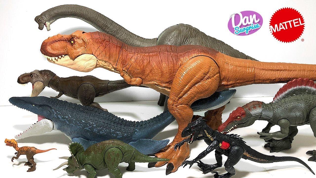 Jurassic World Legacy Collection Brachiosaurus Dinosaure Jurassic Park Mattel Nouveau