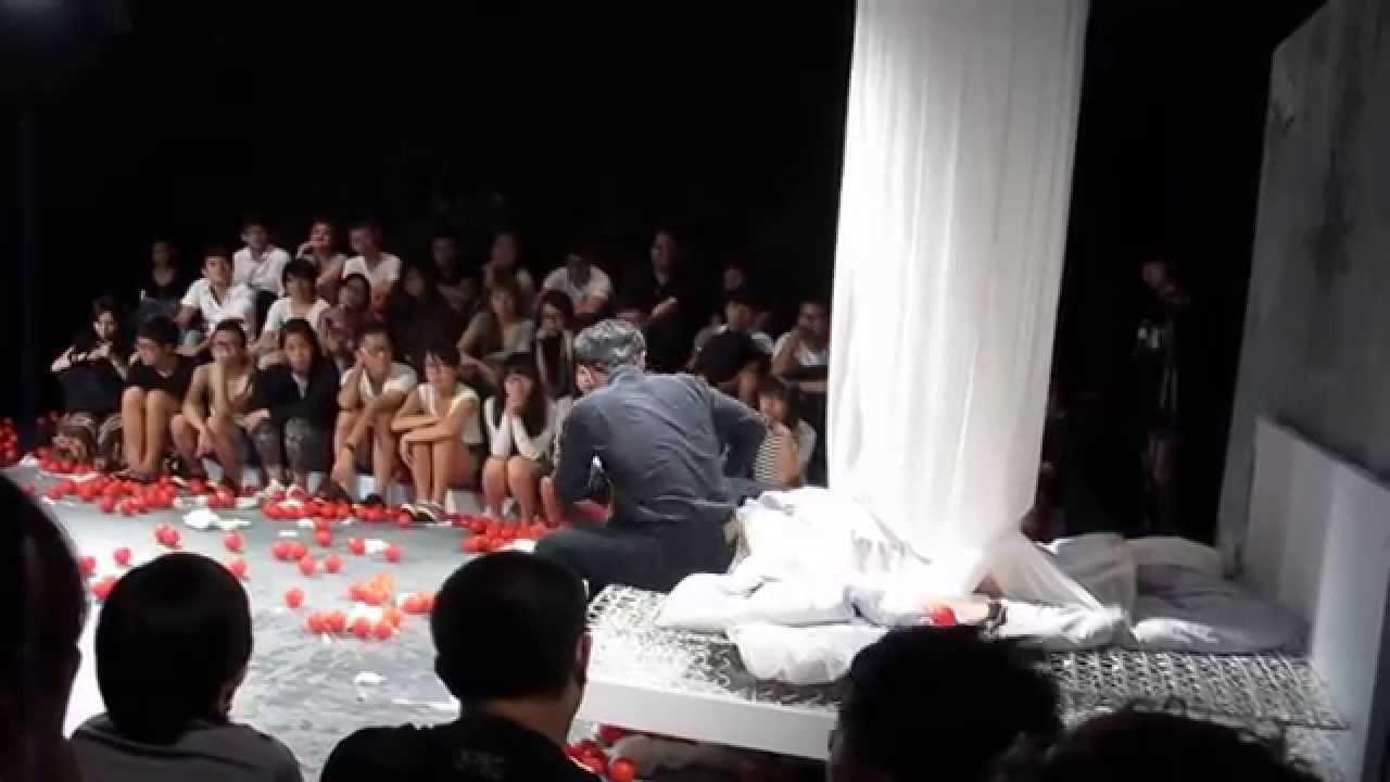 臺大戲劇系【夏天喝水】暑期劇展 - 菲德拉的愛 流血景 - YouTube